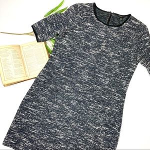 Ann Taylor Speckle Print Sweater Dress Sz 10P